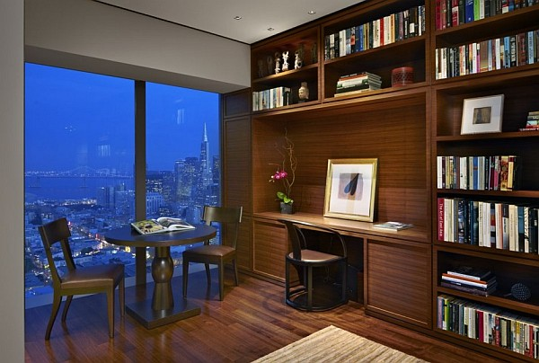 Contemporary-design-study-room-in-fancy-apartment
